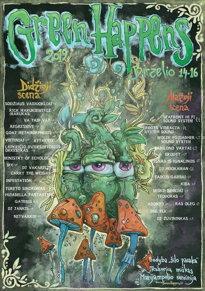Green happens festivalis 2019